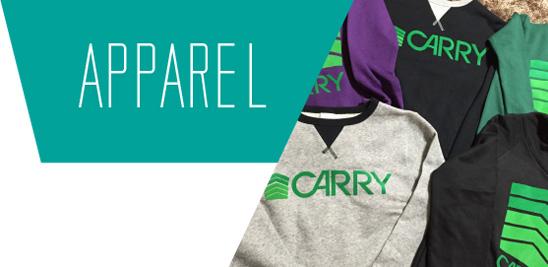 オリジナルアパレルブランド「CARRY」のご紹介